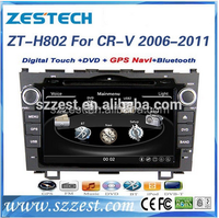 "ZESTECH wholesale OEM 8"" car accessories for Honda CRV car dvd with gps navigation 2006 2007 2008 2009 2010 2011"
