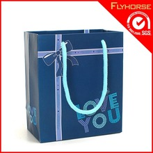 Popular customized hand paper bag for raw materials