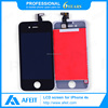 Original cell phone spare parts 4S lcd screen for iphone