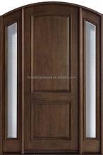Mahogany Solid Wood Exterior Main Gate Design Villa Entrance Door