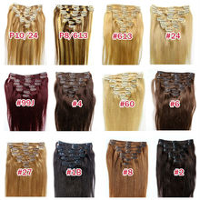 In Short Supply One Piece Clip In Human Hair Extensions,Wholesale Silky Striaght Clip In Human Hair Extension