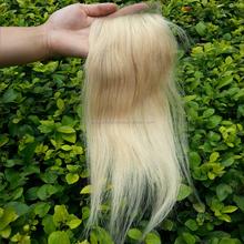 alibaba express white hair lace closure hot Sale Cheap brazilian 613 Blonde lace closure
