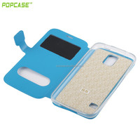 New arrival top grade leather phone case for samsung galaxy s5