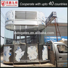 Outside movable guard security guard room, Kiosk Booth,outdoor kiosk booth