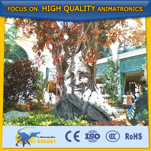 Shopping mall decoration electric talking tree
