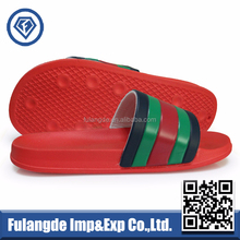 OEM custom EVA slippers,stock wholesale men slipper,PU upper Slide Slippers