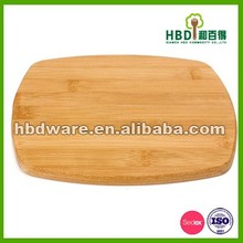 Hot selling bamboo square cutting board,bamboo cutting board wholesale