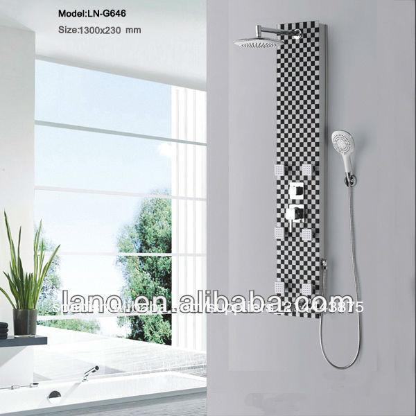 Ducha de cristal templado paneles de pared LN-G646