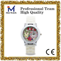 2014 new arrival vogue mini watch cute rabbit geneva wrist watch