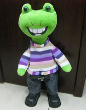 eletric monster plush toy , Wholesale free gifts toy , soft cute monster plush toy