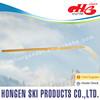 2015 Hongen wood ice hockey stick--laminated wood shaft, ABS blade, composite