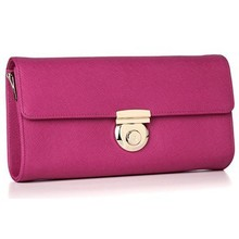 Direct purses china leather clutch and shoulder bag popular ladies party clutch EMG3956