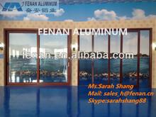 ISO Aluminum Wooden Door and Window Frame Design