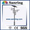HDG spray solar power energy street light pole