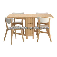 qingdao wooden dining table and chair