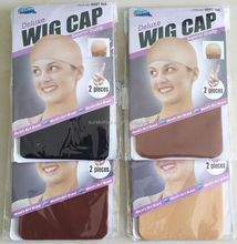 deluxe wig cap high elasticity mesh weaving cap for weave adjustable high quality,5 colors available
