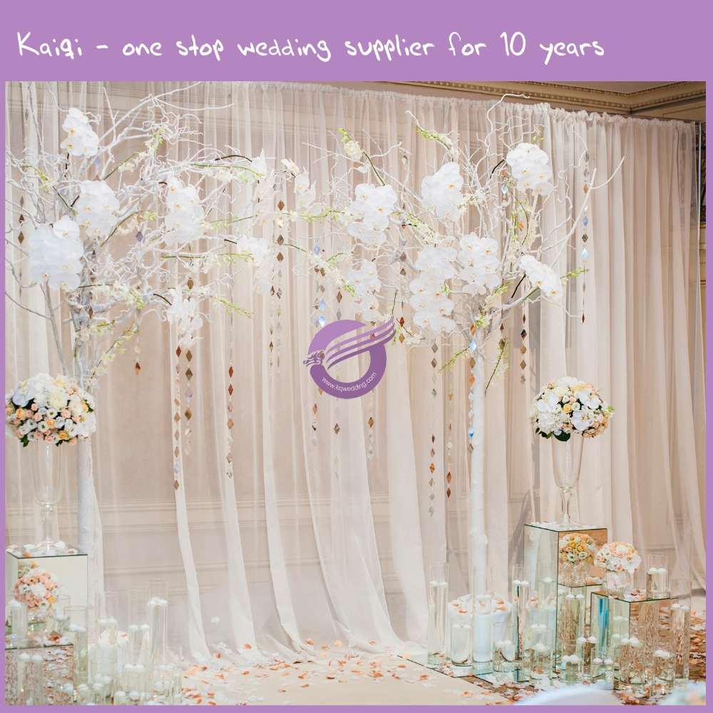 K6785 Volie Fabric For Wedding Backdrop Curtains