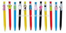 The high cost-effective products pens as gift pens marketing promotional products decorated with various shape clip