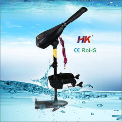Durable electric motor for inflatable boat for fishing