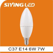 e14 led candle bulb 7w