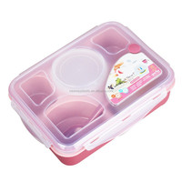 FDA approved plastic dividered food container