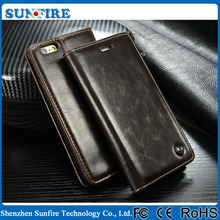 Luxury wallet leather case for iPhone 6 / 6plus / 6s, for iphone 6s case wholesale