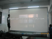 "Fixed Frame Projection Screen 120"" 16:9, Fixed Projector screen, Aluminium Frame Covered Black Velvet"
