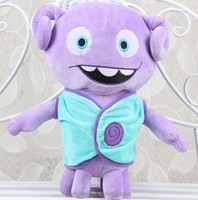 America DreamWorks movie crazy alien small European doll oh boov home monster Doll Toy
