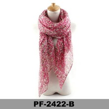 Fashion Women Voile Scarf Stole Wrap 180*90cm made in china