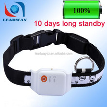 Long life battery waterproof pet gps localizer and tracker for dog LDW-TKP19E