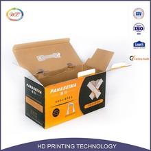 Custom Cardboard Corrugated Paper Box with Handle