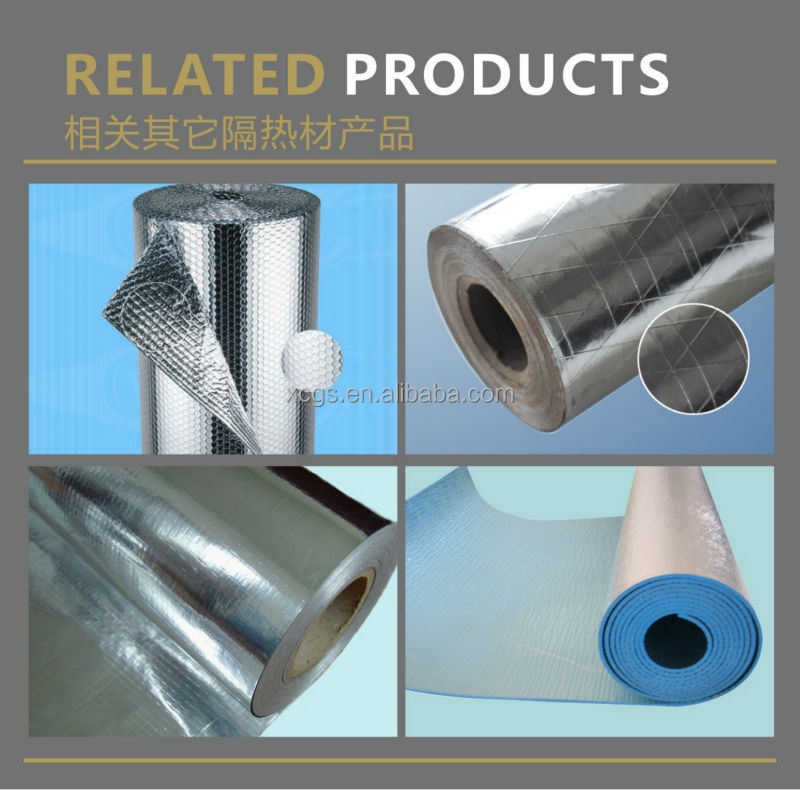 Aluminum Foil Woven Fabric heat insulation material/aluminum foil woven insulation