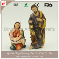 Wholesale Resin and Cross Religious Crafts Resin Cowboy Statue