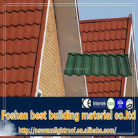colorful stone coated galvanized steel roof truss,lightweight building material