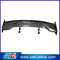 Universal carbon fiber rear spoiler wings rear wings