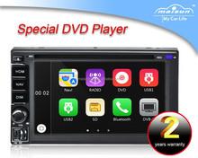 "Universal 6.2"" Windows CE 6.0 TFT Screen In-dash car DVD player"