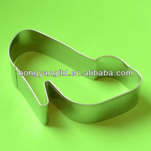 Stainless Steel Dress Shoe Cookie Cutter