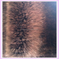 two-tone long pile mink fake fur warp knitted prices chinchilla fur fabric
