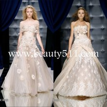 De estilo árabe vestido de noche, atada bordado túnica árabe desgaste nupcial wdah0475