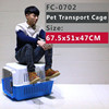 Various colorful Dog Flight Carrier /cage/ house to optional