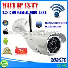 Wifiip-kamera, p2p wifiip cctv, exoo pc-kamera