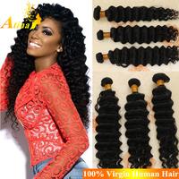 Premium 7A Virgin Burmese Hair Weaving Unprocessed Burmese Deep Wave Human Hair Bundles Best Burmese Deep Curly Hair Weaving