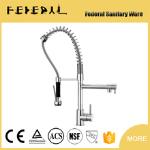 New modern style Cupc pull out kitchen mixer with 304 spring