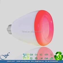 Stock!! Led light bulb E27 bluetooth speaker 3.0 smart lamp bulb 6w led shenzhen bulbs , MTCR-A1