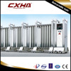 Boundary wall stainless steel electric retractable gate