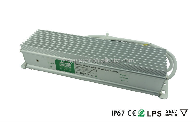 Constant voltage IP67 waterproof LED power supply