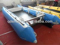 (CE)PVC material S430 6 passengers thundercat inflatable catamaran boat for sale