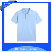men's polyester low-carbon polo shirt