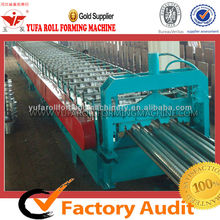 YUFA Light Weight 720 Construction Iron Materials Floor Decking Roll Forming Machine