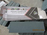 "flexible oil stones/combination sharpening stones aluminum oxide 6"""
